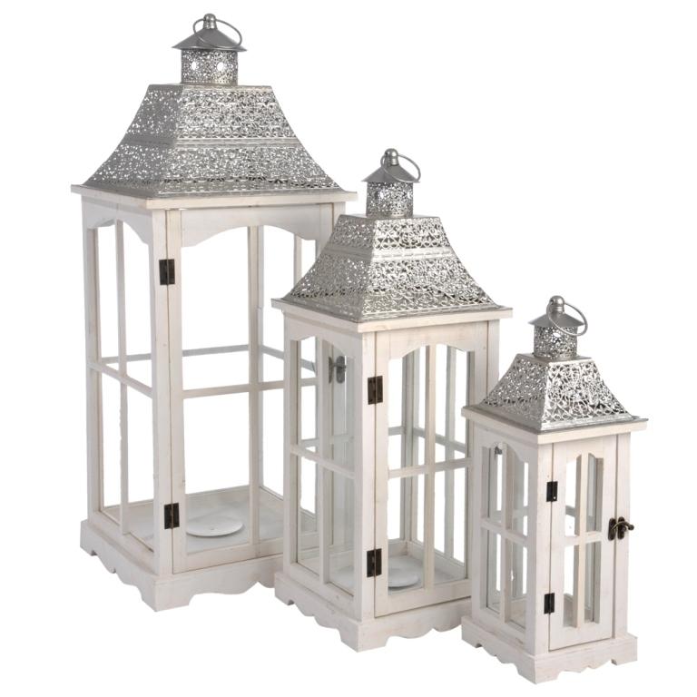 Lanterne bianche da giardino decorare la tua casa - Decorare lanterne ...